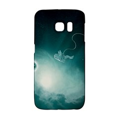 Astronaut Space Travel Gravity Galaxy S6 Edge