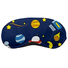 Space Background Design Sleeping Masks by Simbadda