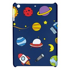 Space Background Design Apple Ipad Mini Hardshell Case by Simbadda