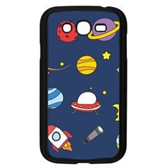 Space Background Design Samsung Galaxy Grand Duos I9082 Case (black) by Simbadda