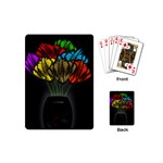 Flowers Painting Still Life Plant Playing Cards (Mini)  Back