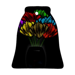 Flowers Painting Still Life Plant Ornament (bell)