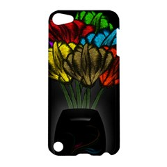 Flowers Painting Still Life Plant Apple Ipod Touch 5 Hardshell Case by Simbadda