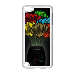 Flowers Painting Still Life Plant Apple Ipod Touch 5 Case (white) by Simbadda