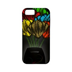 Flowers Painting Still Life Plant Apple Iphone 5 Classic Hardshell Case (pc+silicone) by Simbadda