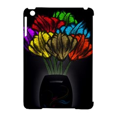 Flowers Painting Still Life Plant Apple Ipad Mini Hardshell Case (compatible With Smart Cover) by Simbadda