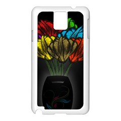 Flowers Painting Still Life Plant Samsung Galaxy Note 3 N9005 Case (white)