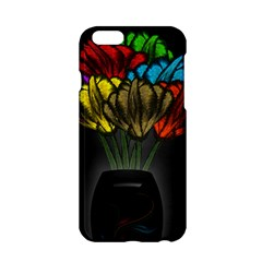 Flowers Painting Still Life Plant Apple Iphone 6/6s Hardshell Case by Simbadda