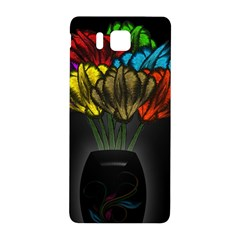 Flowers Painting Still Life Plant Samsung Galaxy Alpha Hardshell Back Case by Simbadda