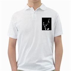 Plant Flora Flowers Composition Golf Shirts by Simbadda