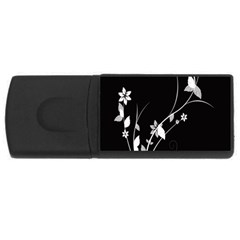 Plant Flora Flowers Composition Usb Flash Drive Rectangular (4 Gb) by Simbadda