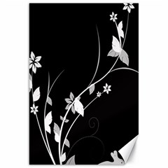 Plant Flora Flowers Composition Canvas 20  X 30
