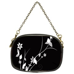 Plant Flora Flowers Composition Chain Purses (one Side)  by Simbadda