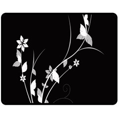 Plant Flora Flowers Composition Fleece Blanket (medium)  by Simbadda