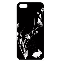 Plant Flora Flowers Composition Apple Iphone 5 Seamless Case (black) by Simbadda