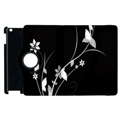 Plant Flora Flowers Composition Apple Ipad 2 Flip 360 Case by Simbadda