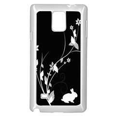 Plant Flora Flowers Composition Samsung Galaxy Note 4 Case (white) by Simbadda