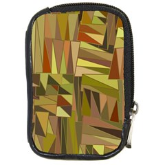 Earth Tones Geometric Shapes Unique Compact Camera Cases by Simbadda