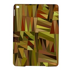Earth Tones Geometric Shapes Unique Ipad Air 2 Hardshell Cases by Simbadda