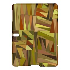Earth Tones Geometric Shapes Unique Samsung Galaxy Tab S (10 5 ) Hardshell Case  by Simbadda