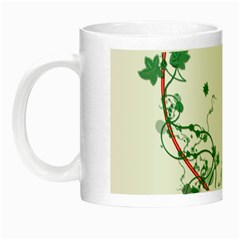 Heart Ranke Nature Romance Plant Night Luminous Mugs by Simbadda