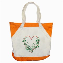 Heart Ranke Nature Romance Plant Accent Tote Bag by Simbadda