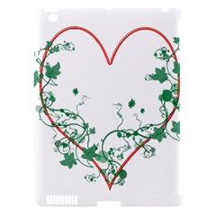 Heart Ranke Nature Romance Plant Apple Ipad 3/4 Hardshell Case (compatible With Smart Cover) by Simbadda