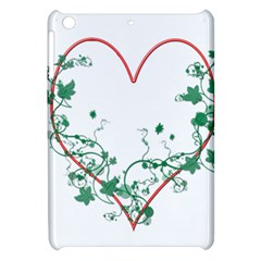 Heart Ranke Nature Romance Plant Apple Ipad Mini Hardshell Case by Simbadda