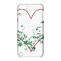 Heart Ranke Nature Romance Plant Apple Ipod Touch 5 Hardshell Case With Stand