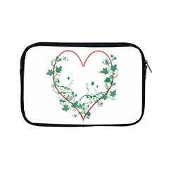 Heart Ranke Nature Romance Plant Apple Ipad Mini Zipper Cases by Simbadda
