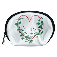 Heart Ranke Nature Romance Plant Accessory Pouches (medium)  by Simbadda