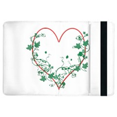 Heart Ranke Nature Romance Plant Ipad Air 2 Flip by Simbadda