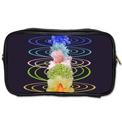 Chakra Spiritual Flower Energy Toiletries Bags by Simbadda