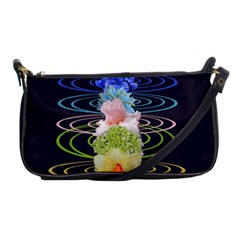 Chakra Spiritual Flower Energy Shoulder Clutch Bags by Simbadda