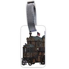 Steampunk Lock Fantasy Home Luggage Tags (two Sides)