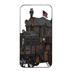 Steampunk Lock Fantasy Home Apple Iphone 4/4s Seamless Case (black) by Simbadda