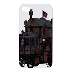 Steampunk Lock Fantasy Home Apple Iphone 4/4s Premium Hardshell Case