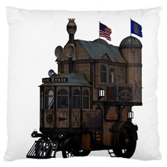 Steampunk Lock Fantasy Home Large Cushion Case (two Sides)