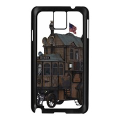 Steampunk Lock Fantasy Home Samsung Galaxy Note 3 N9005 Case (black) by Simbadda