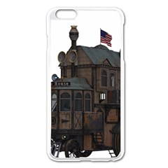 Steampunk Lock Fantasy Home Apple Iphone 6 Plus/6s Plus Enamel White Case by Simbadda