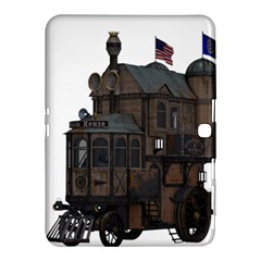 Steampunk Lock Fantasy Home Samsung Galaxy Tab 4 (10 1 ) Hardshell Case  by Simbadda