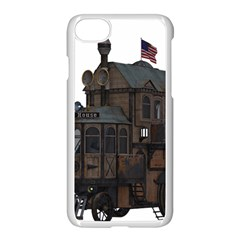 Steampunk Lock Fantasy Home Apple Iphone 7 Seamless Case (white) by Simbadda