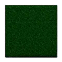 Texture Green Rush Easter Tile Coasters