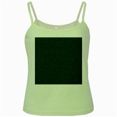 Texture Green Rush Easter Green Spaghetti Tank