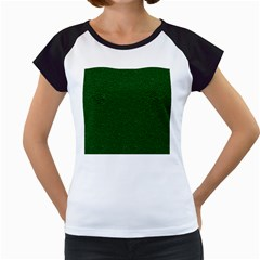 Texture Green Rush Easter Women s Cap Sleeve T