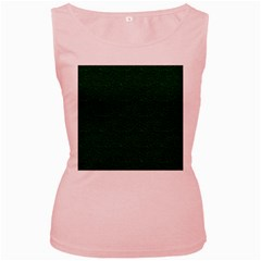 Texture Green Rush Easter Women s Pink Tank Top