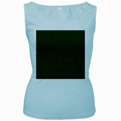Texture Green Rush Easter Women s Baby Blue Tank Top