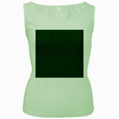 Texture Green Rush Easter Women s Green Tank Top