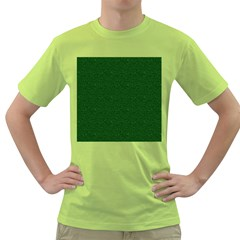 Texture Green Rush Easter Green T-Shirt