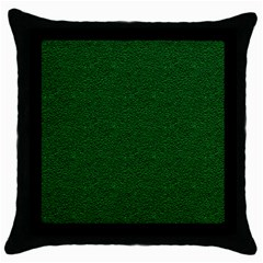 Texture Green Rush Easter Throw Pillow Case (Black)